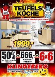 Prospekt herunterladen - Möbel Klingeberg