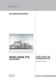ModEllREIhE Ftn (EasytRonIc) - HOBART GmbH