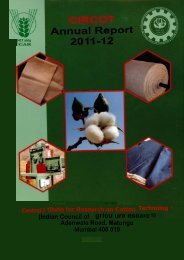 Annual Report 2011-12 - Central Institute for Research on Cotton ...