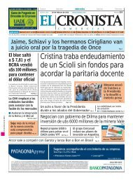 economía&política - Cronista.com