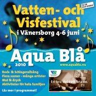 i Vänersborg 4-6 juni