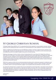 Prospectus - St George Christian School