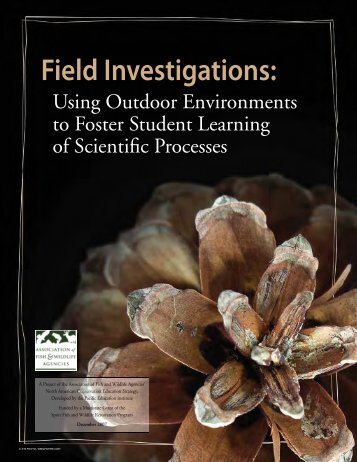 Field Investigations: - New Hampshire Fish and Game Department