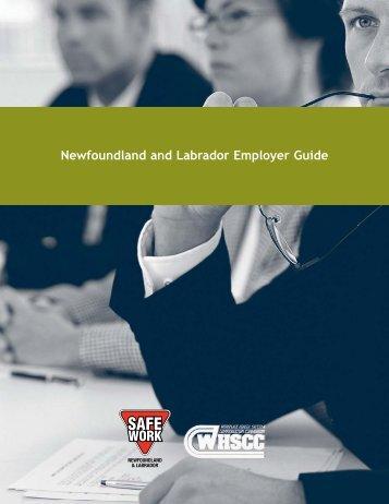 Newfoundland and Labrador Employer Guide - Workplace Health ...