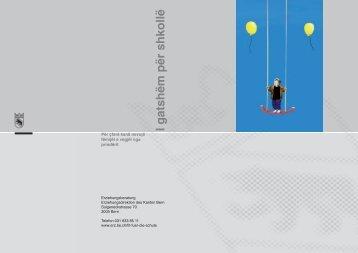 I gatshëm për shkollë - Erziehungsdirektion des Kantons Bern