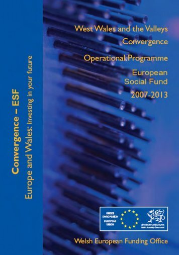 Operational Programme for the European Social Fund 2007-2013, p ...
