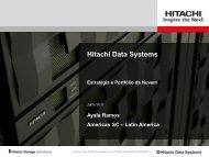 Hitachi Data Systems Estratégia e Portfólio da Nuvem