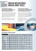bleche und zuschnitte für hochqualitative industriemesser sheets ... - Seite 2