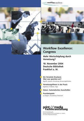 Workflow Excellence: Congress - Mittelhaus