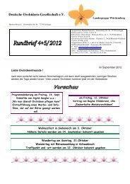 4/2012 - DOG Landesgruppe Württemberg