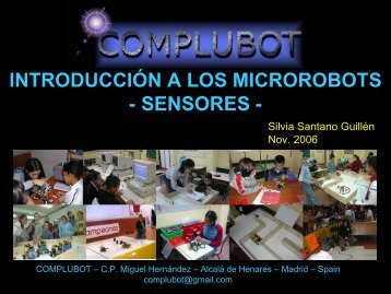 SENSORES DE LEGO - Complubot