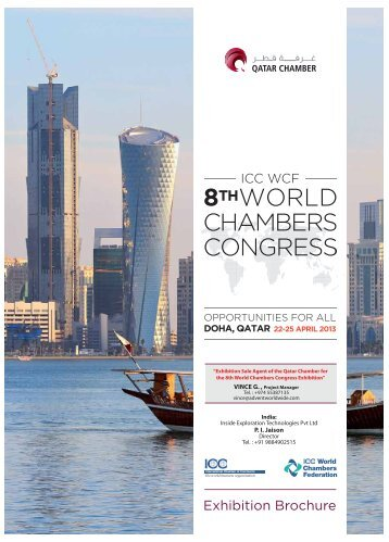 "DOHA QATAR - 22-25 April 2013 ""Exhibition Sale Agent - India for"