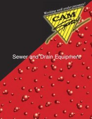 Sewer and Drain Equipment - Mercado-ideal
