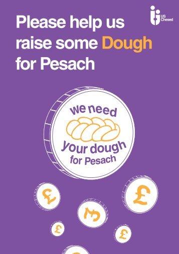 Please help us raise some Dough for Pesach - Pelorous