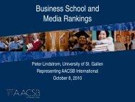 Business School and Media Rankings - International Observatory on ...