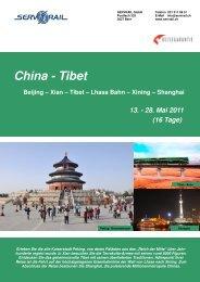 China - Tibet - SERVRail