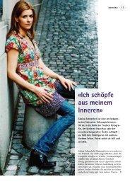 Interview - Sabina Schneebeli