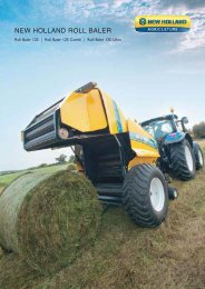 NEW HOLLAND ROLL BALER