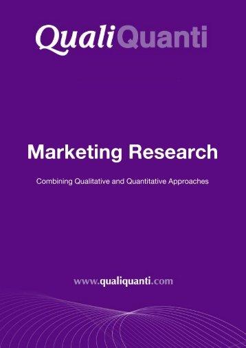 Marketing Research - Recherche Marketing & Etudes Internet.