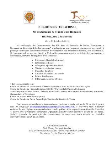 Congresso - Sociedade de Geografia de Lisboa