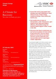 A Climate for Recovery-The colour of stimulus goes ... - SEF Alliance
