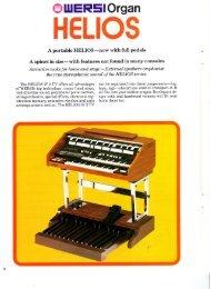 HELIOS - The Organ Forum