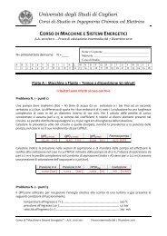 Università degli Studi di Cagliari - Dimeca - Università degli studi di ...