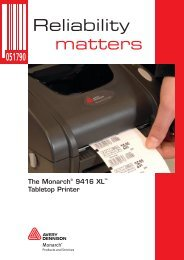 Reliability matters - Avery Dennison