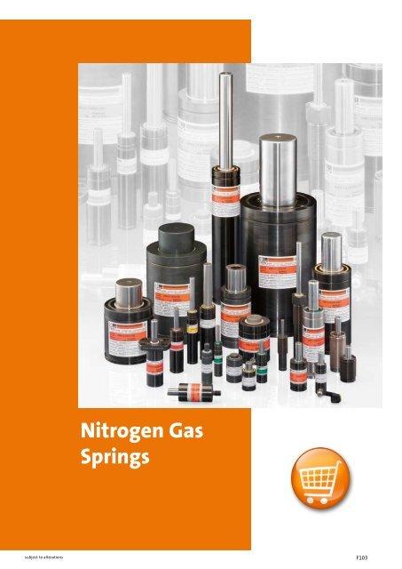 Nitrogen Gas Springs - Fibro GmbH