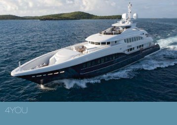 M/Y 4You - Paradise Yacht Charters
