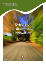Drivers of environmental innovation - Vinnova
