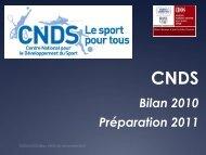 Lire le bilan rédigé par réseau CROS/CDOS Poitou-Charentes