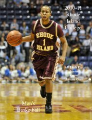 M.Basketball - Rhode Island College Athletics