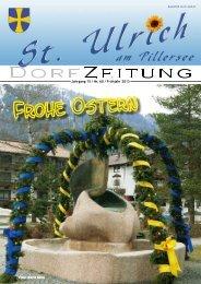 Dorfzeitung Frühjahr 2013 (4,62 MB) - St. Ulrich am Pillersee - Land ...