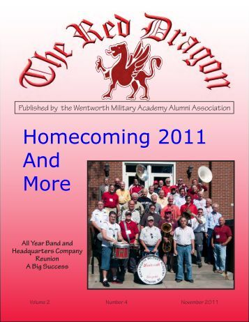 Red Dragon Vol 2 Issue 4 - Wentworth Military Academy & College