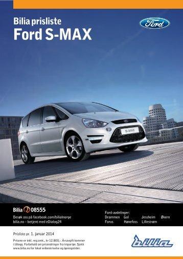Ford S-Max - Bilia