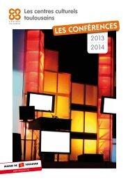 Le programme des conférences 2013-2014 des centres culturels (.pdf)