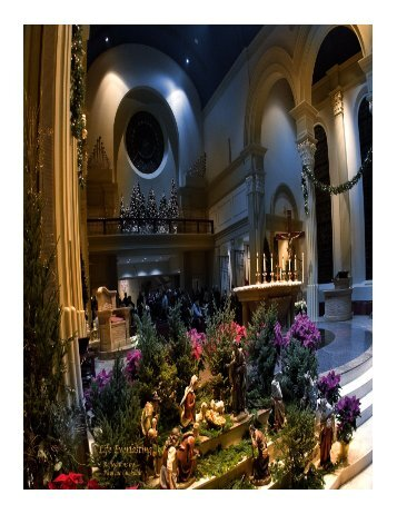 January 7-8, 2012 - Cathedral of the Immaculate Conception