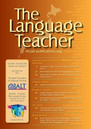 Download - JALT Publications