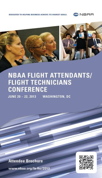 Download the Attendee Brochure (2.64 MB, PDF) - NBAA