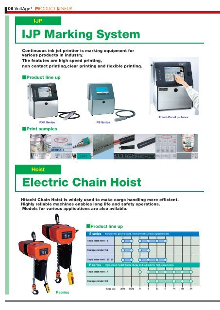 Hitachi Industrial Equipment Systems Co.,Ltd. contributes to ...