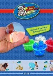 Gigantic Expanding Spheres! (p.9) - Prof Bunsen