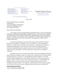 letter from US Senator Charles Grassley to the - Nature Blogs