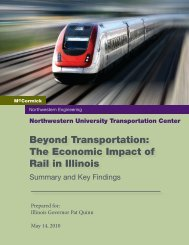 Summary and Key Findings - Transportation Center - Northwestern ...