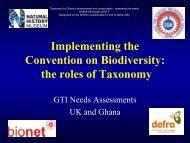 Taylor (UK), Oteng-Yeboah (Ghana) - BioNET