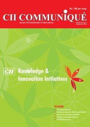 CII Communique - September, 2010