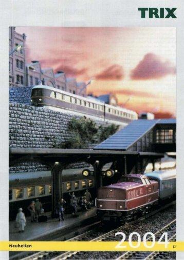 Novedades Trix 2004 - Railwaymania.com