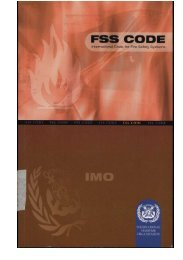 International Code for Fire Safety Systems - Danish Maritime Authority