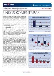 Komercinio NT rinkos komentaras 2010 m. II ketv. - Ober-Haus