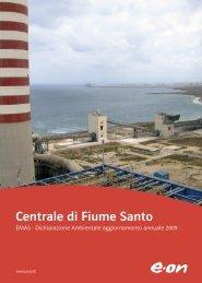 Dichiarazione ambientale della Centrale di Fiume Santo (5 Mb)
